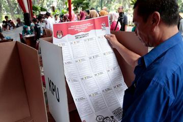 В Индонезии пройдут президентские и парламентские выборы