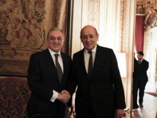 Главы МИД Армении и Франции обсудили нагорно-карабахский конфликт