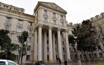 XİN-də San-Marinonun Azərbaycandakı fəxri konsulu qəbul edilib