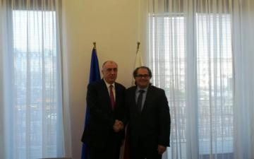 Azerbaijani FM meet with the Minister of Marine Economy and Inland Navigation of Poland