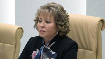 Матвиенко переизбрали председателем Совета МПА СНГ