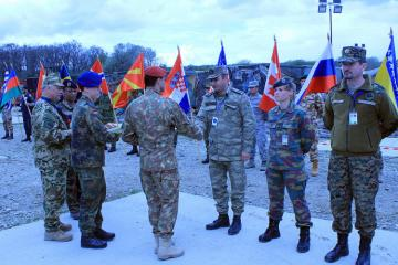 Representatives of the Azerbaijan Army took part in the NATO Multinational Joint Medical Exercises