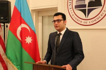Azərbaycanın Birinci vitse-prezidentinin köməkçisi ABŞ-Azərbaycan Ticarət Palatasının üzvləri ilə görüşüb