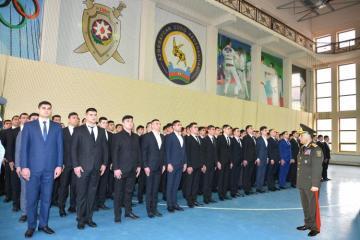 Ramil Usubov 372 nəfəri daxili işlər orqanlarına qəbul edib