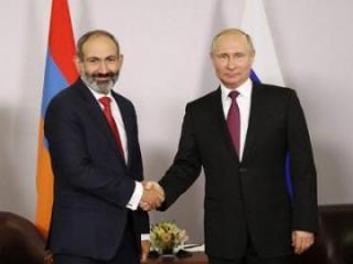 Путин встретится с Пашиняном 29 мая