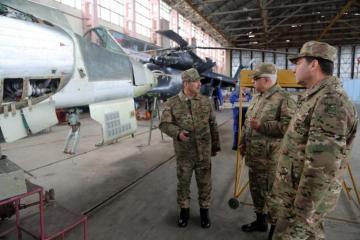 Открылся учебно-тренировочный центр ВВС Азербайджана