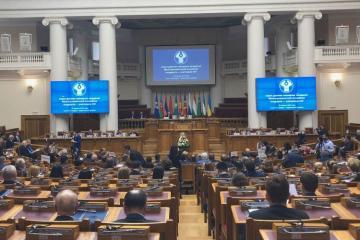 Oqtay Əsədov MDB-nin Parlamentlərarası Assambleyasının iclasında iştirak edib