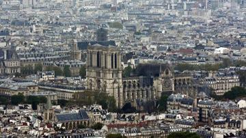В Париже полицейских закидывают самокатами и кирпичами