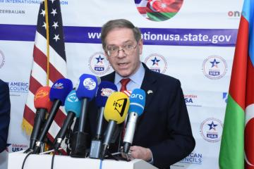 "US Ambassador: ""We impatiently look forward for continuation of dialogue on Nagorno Karabakh"""