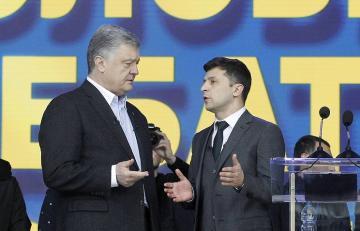 Zelensky to Poroshenko: 'I am not your opponent, I am your sentence'