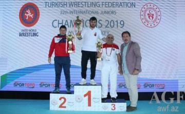 """Azərbaycan güləşçiləri """"Çempionlar"""" turnirini 11 medalla başa vurublar"""