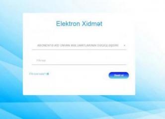 """""""Azərsu"""" yeni elektron xidmətini istifadəyə verib"""
