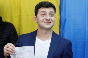 Azərbaycanda yaşayan ukraynalıların əksəriyyəti Vladimir Zelenskiyə səs verib