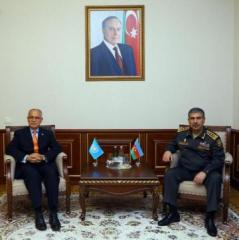 Defense Minister met with UN Resident Coordinator in Azerbaijan