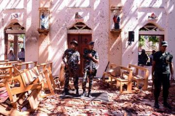 İŞİD Şri-Lankadakı terror hücumlarına görə məsuliyyəti üzərinə götürüb