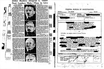 Documents claim Adolf Hitler escaped to Argentina