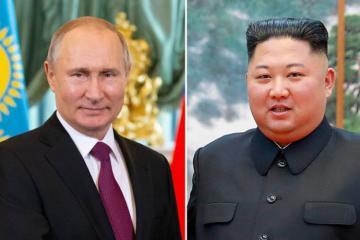 Pxenyan: Kim Çen Inın Rusiyaya səfəri Vladimir Putinin dəvəti ilə həyata keçirilir