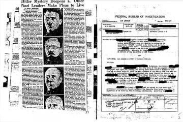 Hitlerin Argentinaya qaçmasını sübut edən sənədlər açıqlanıb