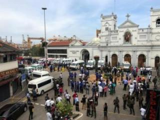 Sri Lanka police detain Syrian in investigation of blasts, death toll rises to 321