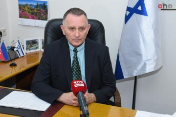 """Israeli Ambassador: """"The Golan Heights should be put on a back burner, until the situation in Syria will stabilize, and peace will prevail"""" - [color=red]INTERVIEW[/color]"""