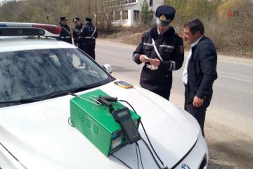 DYP Qusarda reyd keçirib: 300-dən çox sürücü saxlanılıb