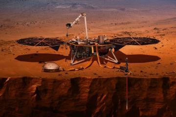 Mars probe InSight detects possible 'marsquake' - NASA