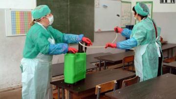 Дезинфекция в бакинской школе вызвала недовольство родителей