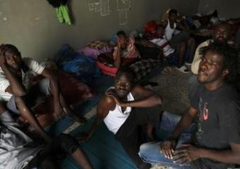 25 detained migrants evacuated as war reaches Tripoli