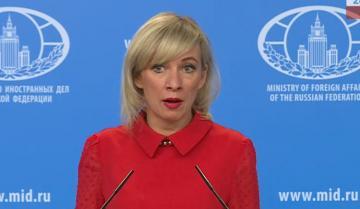 "Maria Zakharova: ""Russia to try to meet OSCE Secretary General's expectations"""