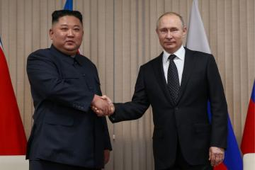 """Putin:  We had substantial discussion with Kim Jong-un"""""""