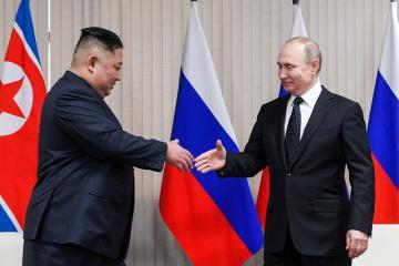 UN secretary general welcomes meeting between Putin and Kim Jong-un