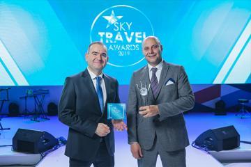 """Heydər Əliyev Beynəlxalq Aeroportu """"Sky Travel Awards"""" versiyası üzrə ən yaxşı hava limanı seçilib"""