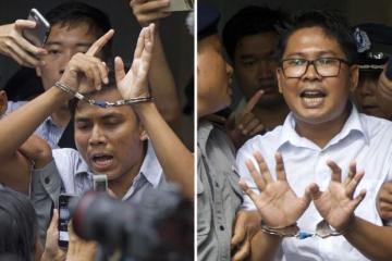 Myanmar pardons nearly 7,000 prisoners
