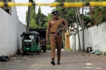 На Шри-Ланке задержали трех человек с килограммом взрывчатки
