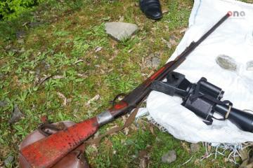 На российско-азербайджанской границе нашли тайник с оружием