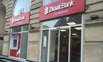 """""""Ziraat Bank Azərbaycan""""ın mənfəəti 43% azalıb"""