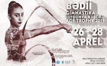 Bakıda bədii gimnastika üzrə Dünya Kuboku start götürür