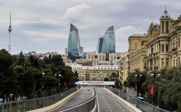 Гран-При Азербайджана начался с соревнования «Формулы-2»