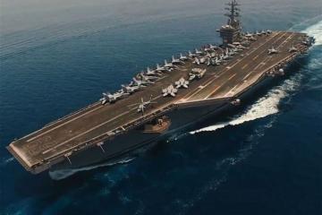 ABŞ hərbi gəmisi Fars körfəzinə daxil olub - [color=red]VİDEO[/color]
