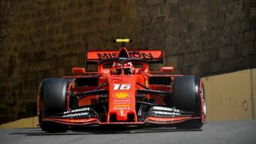 First Qualifying of F1 Azerbaijan Grand Prix 2019 starts