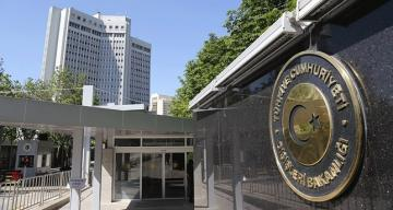"""Turkey MFA: """"We reject statement of Portugal's Parliament with regard to 1915 events"""""""