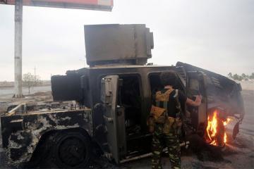 İŞİD-in Rakkada avtomobili partlatması nəticəsində 10 nəfər ölüb