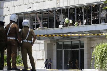 В Шри-Ланке запретили две группировки, подозреваемые в терактах