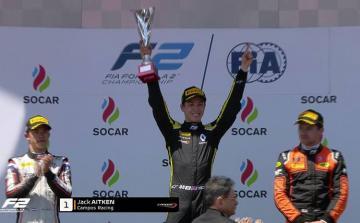 Formula 2: 13 drivers reach finish line, first winner known
