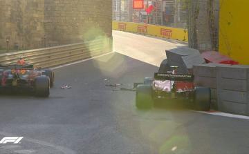 """""""Formula-1"""": Tur başlayıb, bu dəfə """"Ferrari"""" qəza törədib"""