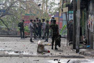 При перестрелке на Шри-Ланке погибли 15 человек