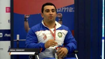 Azərbaycanın daha bir paralimpiyaçısı Dünya Kubokunda fəxri kürsüyə yüksəlib