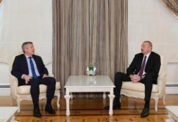 President Ilham Aliyev received President of Argentine Chamber of Deputies