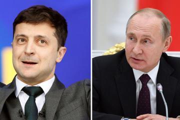 Putin Zelenskiyə Saakaşviliyə Ukrayna pasportunu geri qaytarmağı məsləhət görüb