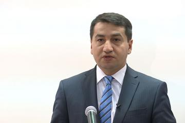 """Hikmət Hacıyev: """"Azərbaycan """"Bir kəmər, bir yol"""" layihəsini dəstəkləyən ilk ölkələrdəndir"""""""